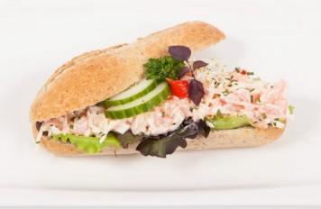 Broodje Noordzeesalade