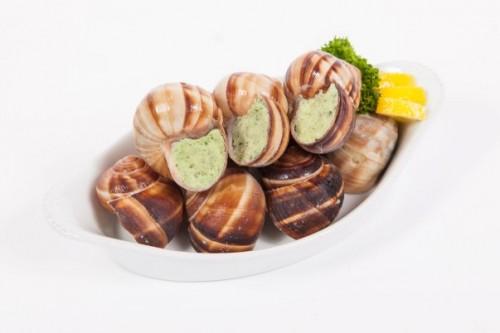 Escargots met kruidenboter