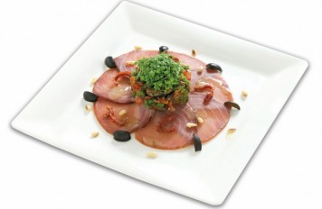 Carpaccio tonijn